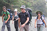 Halpern family in the trekking to Corcovado © by OA:modio